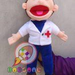 Layanan Pembuatan Boneka Puppet Custom Dokter