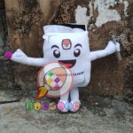 Produsen Boneka Maskot KPU Kabupaten Cilacap PEMILU 2019
