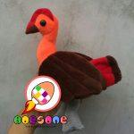 Produsen Boneka Maskot Burung Maleo Papua