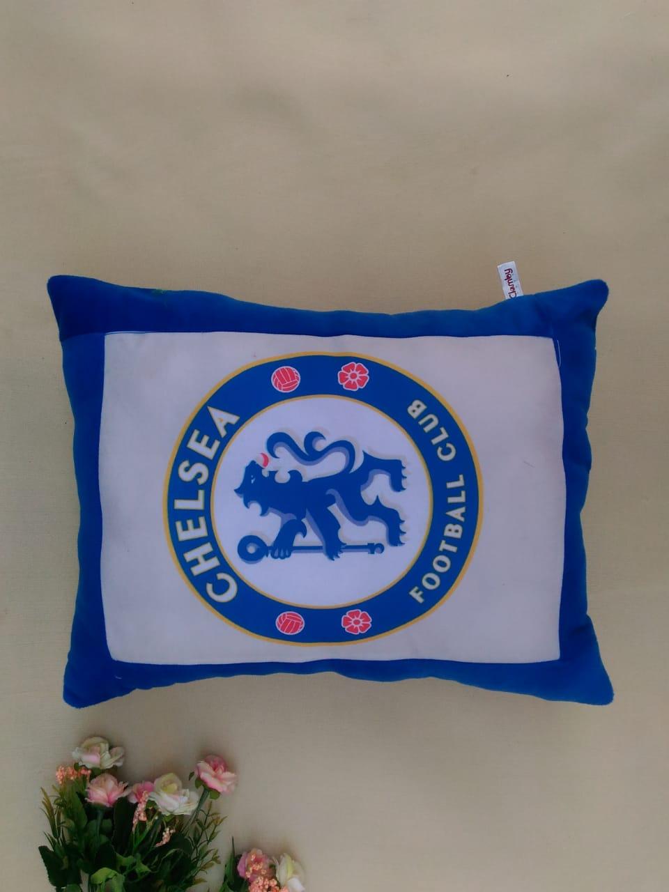 Bantal Print Souvenir Chelsea Football Club