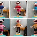 Paket Boneka Muppet Edukasi Family Series
