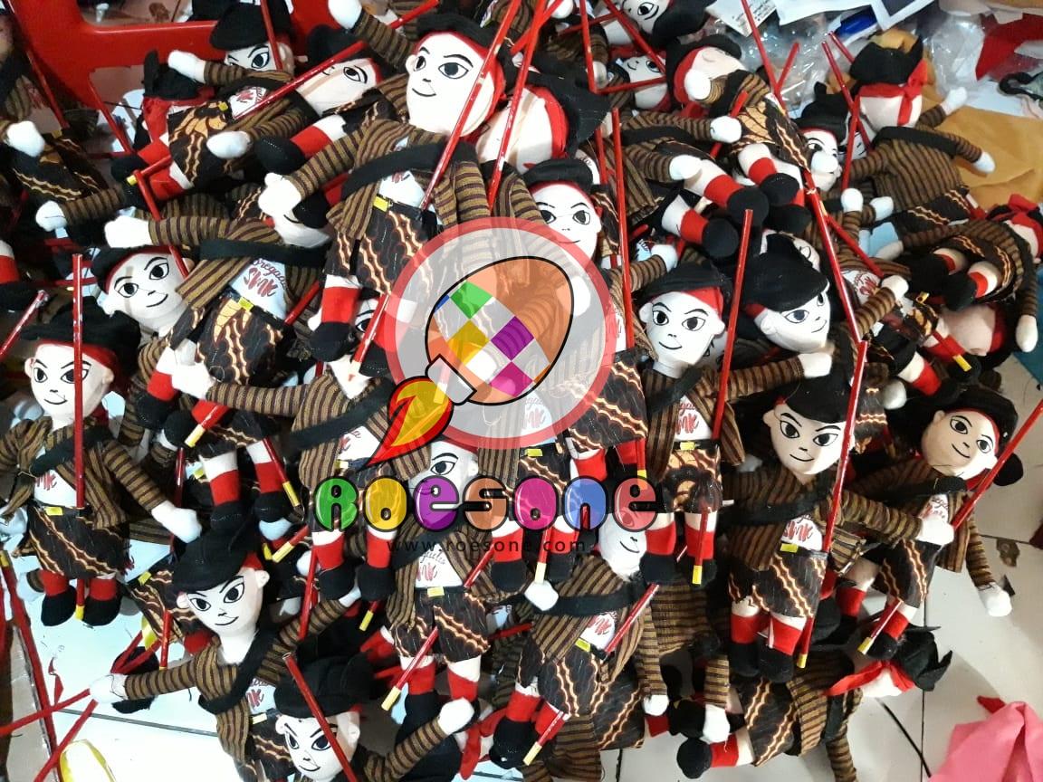 Produsen Boneka Maskot BREGADA SMK LKS 2019 di Yogyakarta