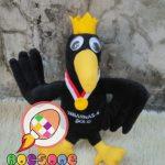 Produsen Boneka Maskot TEBARNAS 6 Solo FTB Bulutangkis 2019