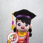 Produsen Boneka Maskot Wisuda Universitas AMIKOM Yogyakarta