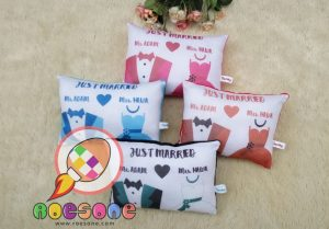 Produsen Bantal Wedding Murah
