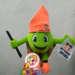 Produsen Boneka Maskot KPU Kab Pangkep Sulawesi Selatan