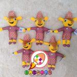 Produsen Boneka Maskot Adat Bangka Songket Kain Cual