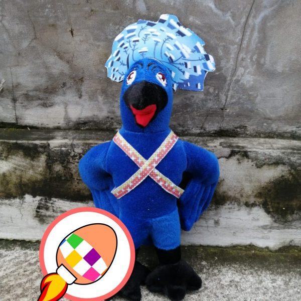 Produsen Boneka Maskot Burung Manokwari Endemik Khas Papua