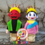 Boneka Maskot PILKADA DKI Jakarta Karakter Ondel-Ondel