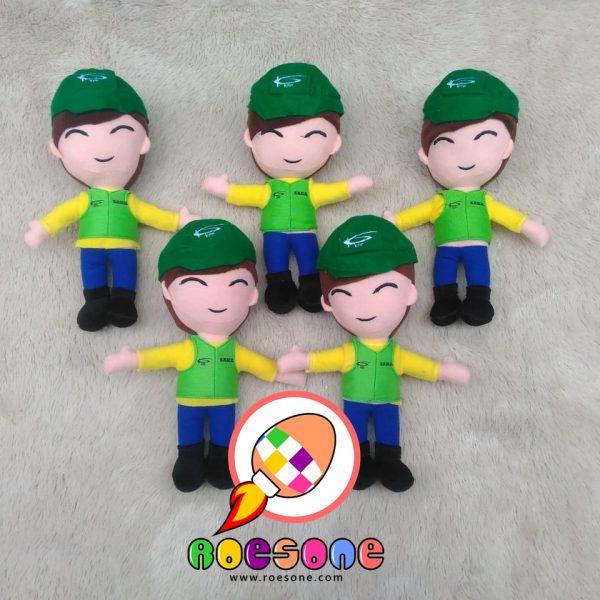 Produsen Boneka Maskot Perusahaan Tambang Kalimantan Prima Persada