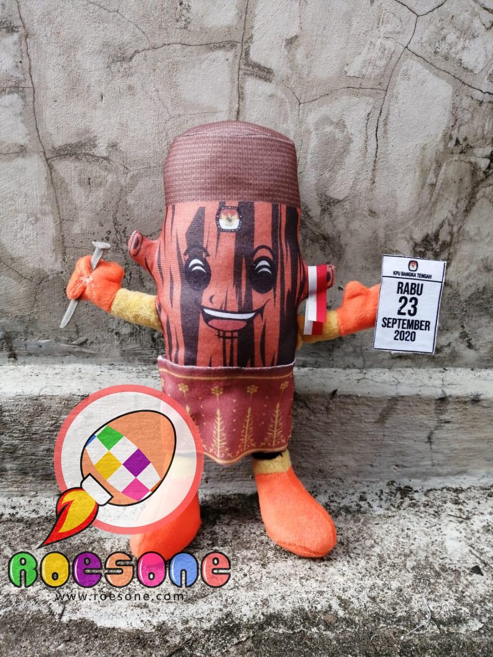 Produsen Boneka Maskot KPU Kab Bangka Tengah Pilkada 2020