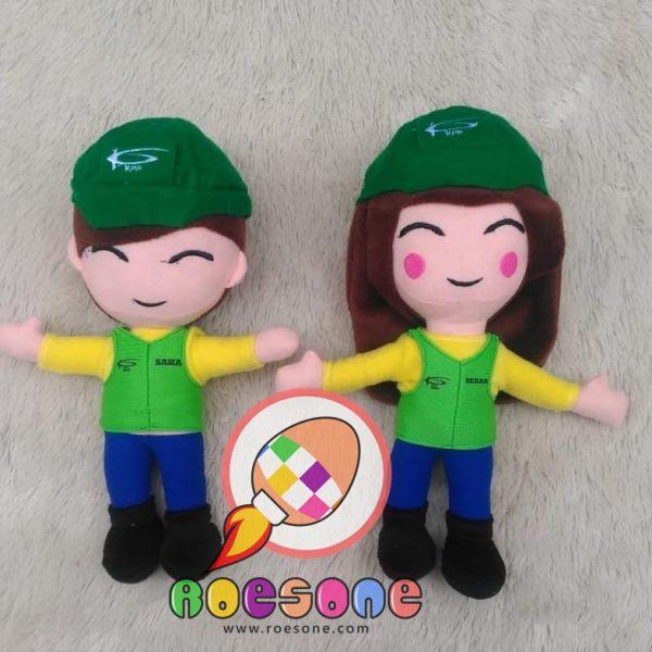 Produsen Boneka Maskot PT KPP Kalimantan