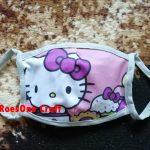 Promo Masker Anak Karakter Hello Kitty