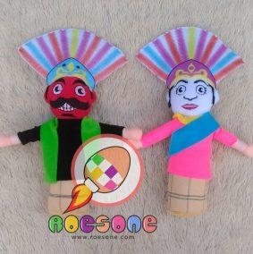 Boneka Souvenir Ondel-ondel Bisa Dipakai KPU Jakarta dan Bekasi