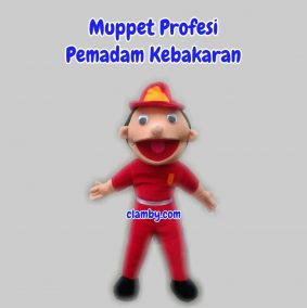 Produsen Boneka Muppet Profesi Pemadam Kebakaran